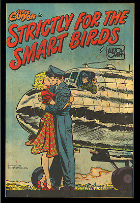 Steve Canyon in Strictly for the Smart Birds #nn Harvey File Copy 1951 NM
