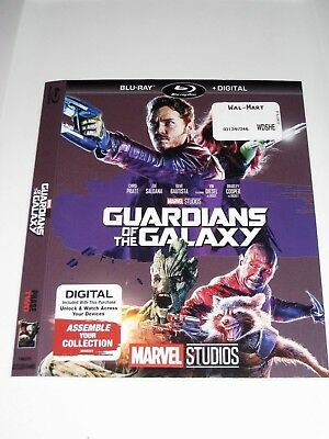 Guardians of the Galaxy  / Blu ray Slip Cover Only / No Disc