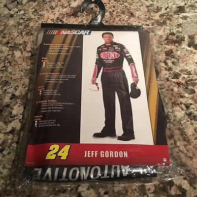 Jeff Gordon Adult X-Large (44-46) DuPont Racing Suite with Team Logos Costume
