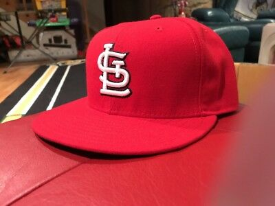 best service adfa1 7041f NWOT St. Louis Cardinals MLB 59fifty 5950 New Era fitted hat cap size 7 5