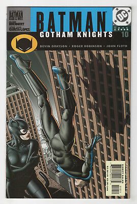 Batman: Gotham Knights #10 (Dec 2000, DC) [Catwoman, Nightwing, Hugo Strange] D