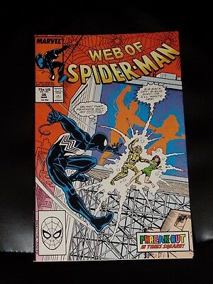 Web of Spider-Man #36 Fine+ Or Better — No reserve