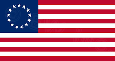 3x5 FT POLYESTER US AMERICAN BETSY ROSS 13 STAR USA HISTORIC FLAG