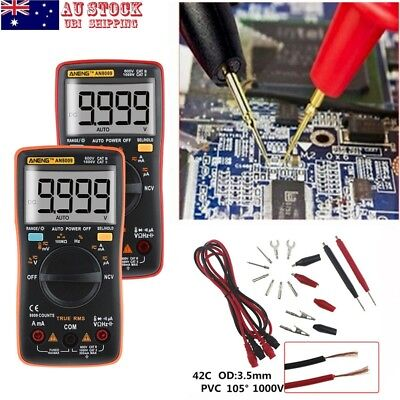 Electrical LCD Digital Clamp Meter Multimeter RMS AC/DC OHM Multi Tester AU!!!