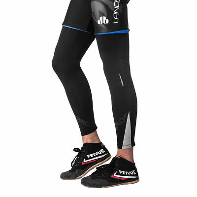 ROCKBROS Ice Silk Anti-UV Sun Protection Lycra Quick-dry Leg Warmers Black