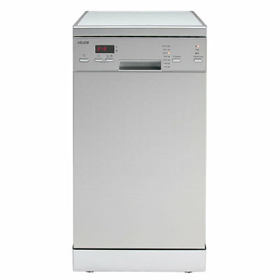Euro 45cm Stainless Steel 10 Place Dishwasher - Model: EDS45XS