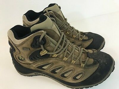 668ff5c4e99 MERRELL MENS REFLEX Mid Waterproof Loden Hiking Boots Men US Size 10 EUR 44