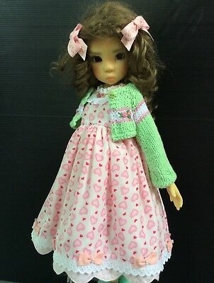 """Outfit for Kaye Wiggs doll bjd 18"""" 4pc."""
