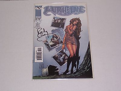 Witchblade issue 31 comic, signed by Randy Green