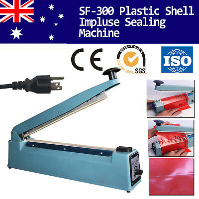 Impulse Heat Sealer 300mm Electric Plastic Poly Bag Sealing Machine Household AU