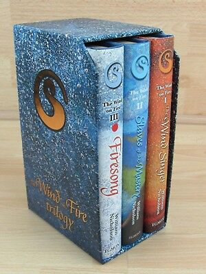 The Wind on Fire Trilogy:The Wind Singer,Slave... by Nicholson, William Hardback