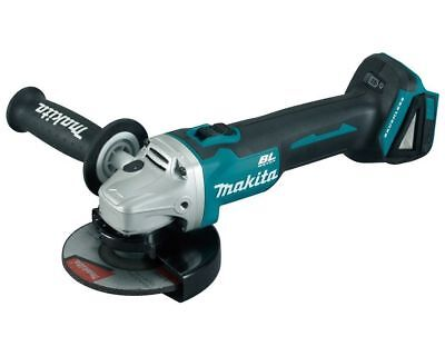 "Makita 18V 125mm(5"") Brushless Slide Switch Angle Grinder DGA504"