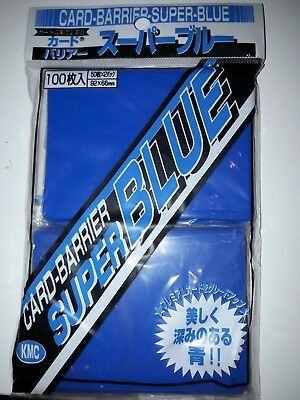 KMC Card Barrier Super Blue Pack Sleeves Kartenhüllen 100 Stück 2