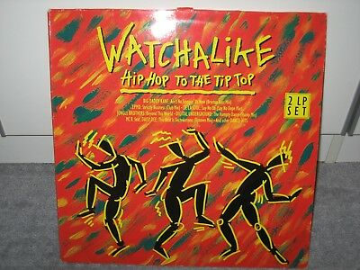 """Doppel-LP V.A. """"Watchalike >Hip Hop to the Tip Top<"""" (WEA Records)"""