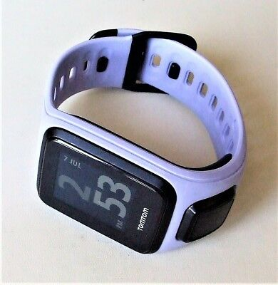 TOMTOM SPARK GPS FITNESS WATCH IN LILAC - SMALL - HEART RATE, RUNNING, BIKE etc.