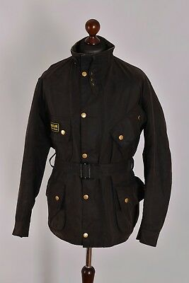 Men's Barbour Original International Waxed Jacket Size C48 / 122cm Genuine