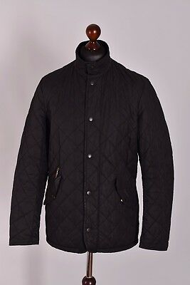 Men's Barbour Chelsea Sportsquilt Quilt Jacket Size M Genuine Mint Casual
