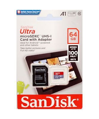 SanDisk Ultra 64GB A1-App-Rated Micro SDXC for Samsung Tablets & Other Android