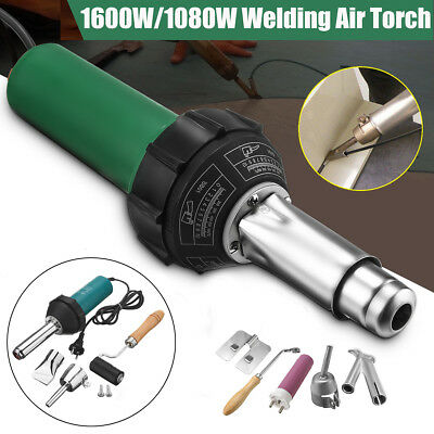 1600W/1080W AC 220V Hot Air Plastic Welding Torch Welder Electric Flooring Tools