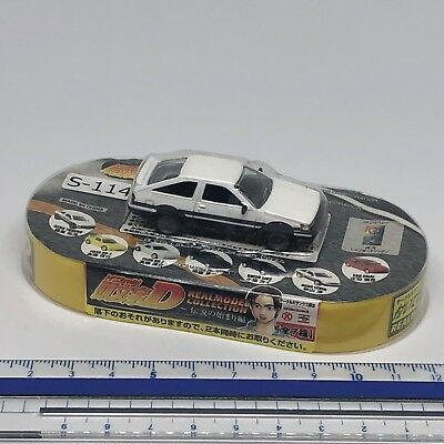 Initial D × Circle K AE86 LEVIN Early Type Akiyama Wataru Toy Car W/B S-114