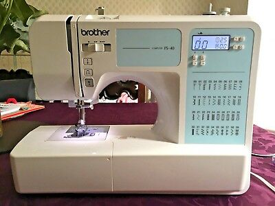 Brother FS40 Computerised Sewing Machine With Accessories Must read description