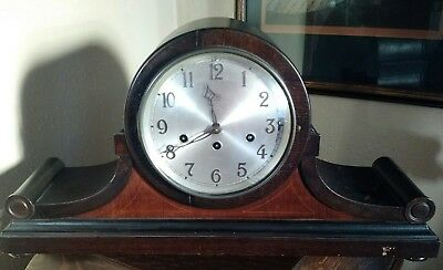 Antique Junghans / Wurttemberg German Westminster Chimming Mantel Clock