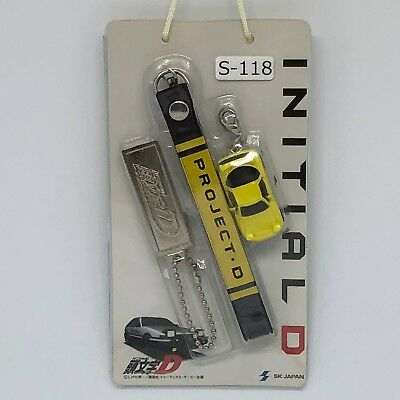 Initial D RX-7 FD3S Project D Ver. Takahashi Keisuke Figure Strap W/P S-120