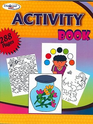 A4 288 Page Jumbo Children's Multiactivity Art & Craft Book