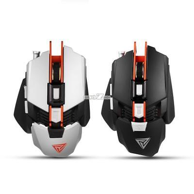 Professional RGB Mechanical Mouse 4000DPI 7 Button Wired Gaming Mouse 4 RR6