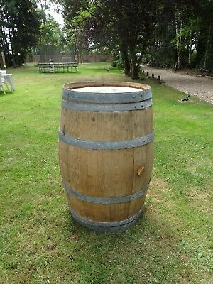 Ultimate Man Cave Quality Decorative full size coopered Oak wine  Barrel table