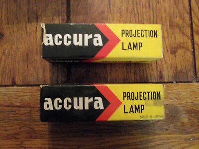 lot of 2 accura projection lamps