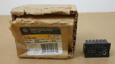 1 Nib Ge General Electric Tr16S1600 Circuit Breaker Rating Plug 1600A 1600 Amp
