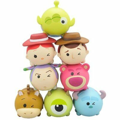 Disney Artbox Tsum Tsum Wink Single eye Pile Up NOS-49 Pixar ver (8-Pack) toy