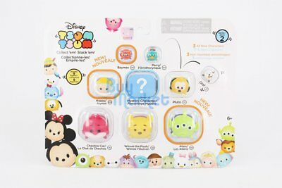 Disney Jakks Tsum Tsum Pile up Figure 9X Pack toy SERIES 2 in RANDOM Character