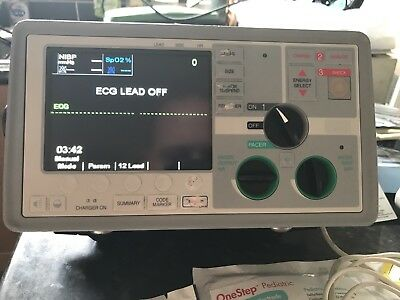 Zoll E Series 12 Lead NIBP SP02 PACER ETC02 + EXTRAS