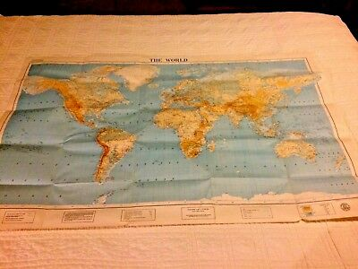 1937 World Map Special Edition by American Geographical Society