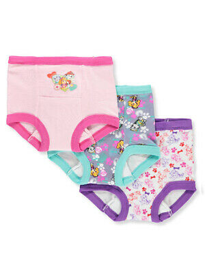 Paw Patrol Girls' 3-Pack Training Pants & Chart Set