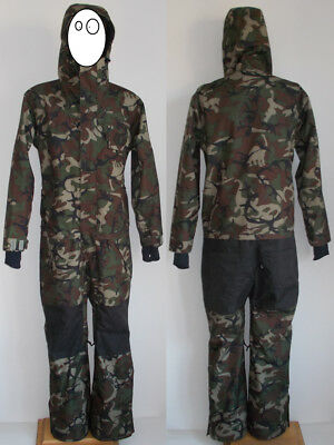 Airblaster Freedom Suit Gr. L Dinoflage One Piece Overall Camouflage Jacket Pant