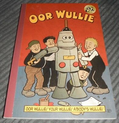 Oor Wullie 2015 Paperback Book Great Condition