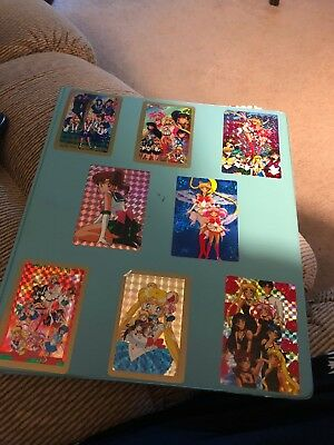 Sailor Moon 1996 Trading Cards