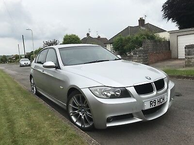 BMW 320d M Sport 2006 56 plate Full Leather 18 inch BMW alloys