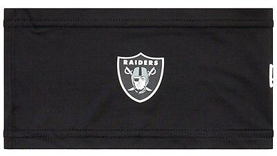 New Era - Herren NFL Oakland Raiders On-Field Training Skull Stirnband - Schwarz