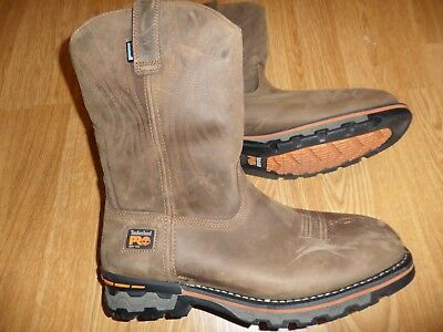 cf13fb8a34af Timberland Pro Ag Boss Soft Toe Waterproof Leather Work Boots Men s 11 Wide   230