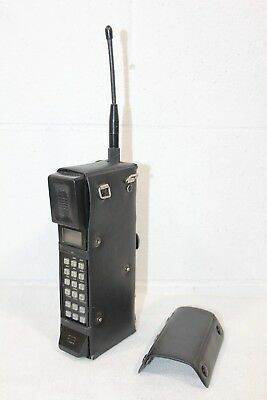 Vintage NOKIA Radio Shack 17-1050A Cell Phone Brick w/ Cover, Untested, CT-301