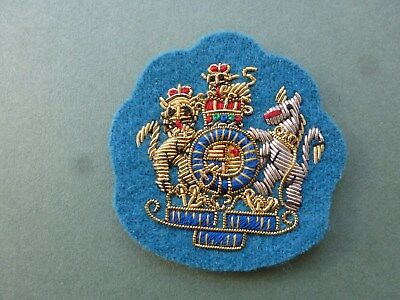 gold on AAC blue for Mess Dress