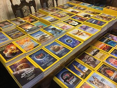 NATIONAL GEOGRAPHIC  Magazine 1980 - 2016  Grab your 4 issues !!!