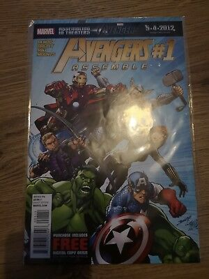 Marvel Comics Avengers Assemble Issue 1 US Direct Edition