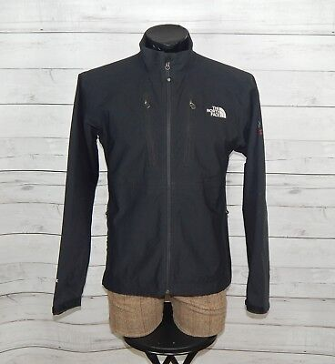 THE NORTH FACE men's SUMMIT SERIES softshell APEX black jacket SIZE L LARGE