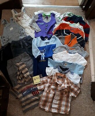 Bundle Of Baby Boy Clothes 12-18months NEXT JASPER CONRAN & others #47