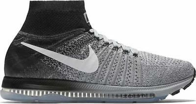 011ddf3e26c71 Nike Zoom All Out Flyknit Mens Running Shoes Wolf Grey 844134 003 RARE MSRP   170